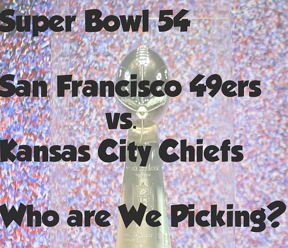 Super Bowl Picks – Let's GO!