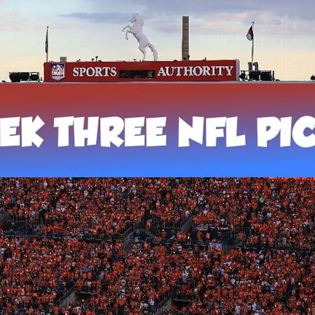 Grab Some Week Three Picks